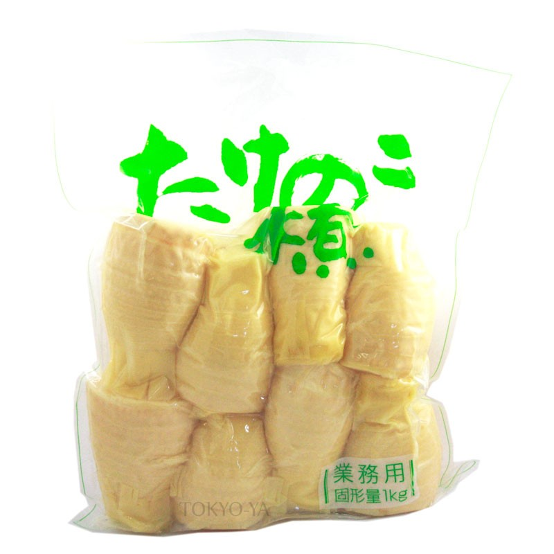 Puntas de Bambú cocidas 1 kg