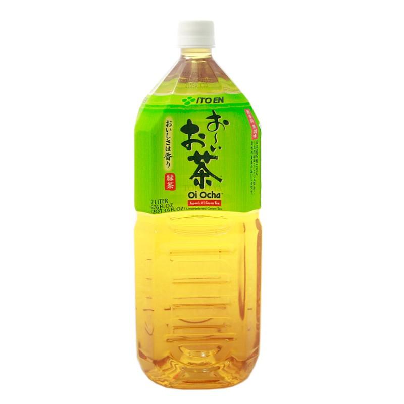 Te verde Oi Ocha Green Tea 2 L