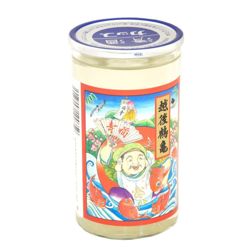 Sake Junmai Echigotsurukame Shofukujin 180 ml