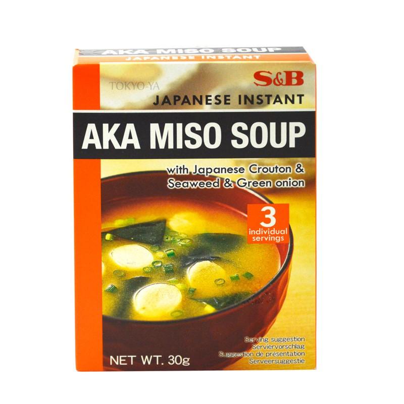 Sopa Instanánea de Miso Rojo 30 g