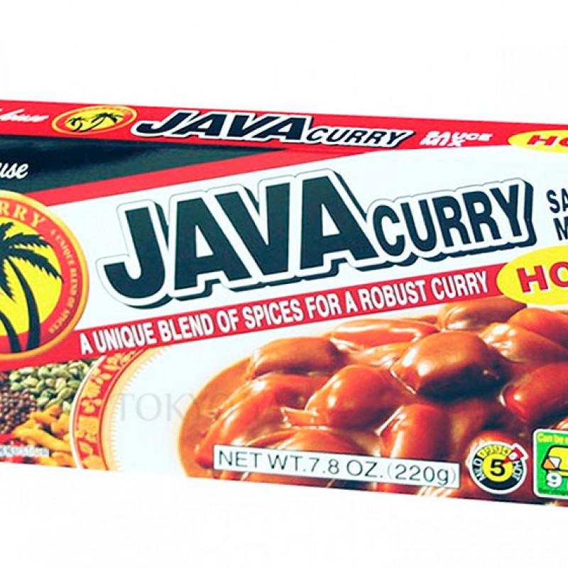 Curry Picante en Tableta Java 220 g