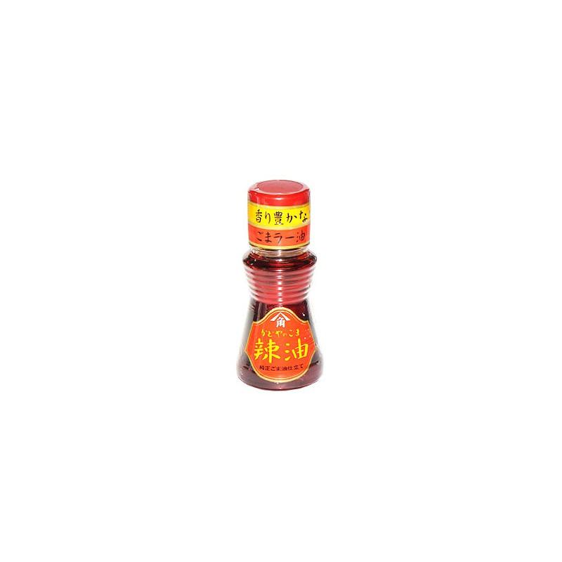 Aceite de Sésamo con guindilla La  Yu 45 ml