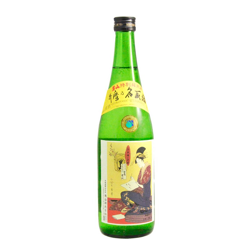 Sake Junmai Otokoyama Utamarononatori 720 ml