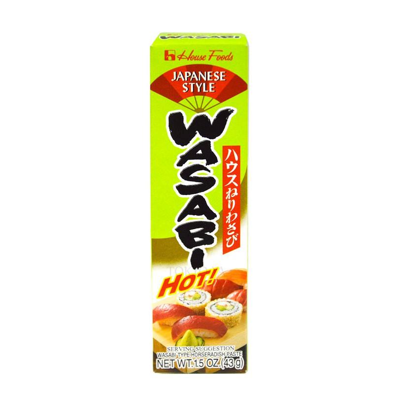 Wasabi en Pasta Eibun 43 g - TOKYO-YA, Líder en Alimentación Japonesa al por Mayor y Menor