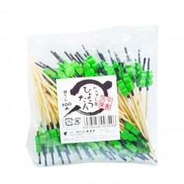 Brochetas de Bambú Kanzashi Hyoutan 9 cm