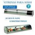 Vitrina para Sushi y Sake Shogun
