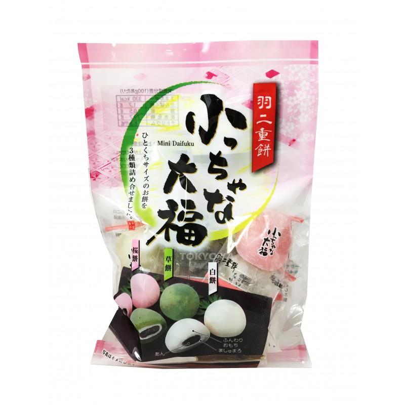 Pastelitos de arroz Mini Daifuku 140g