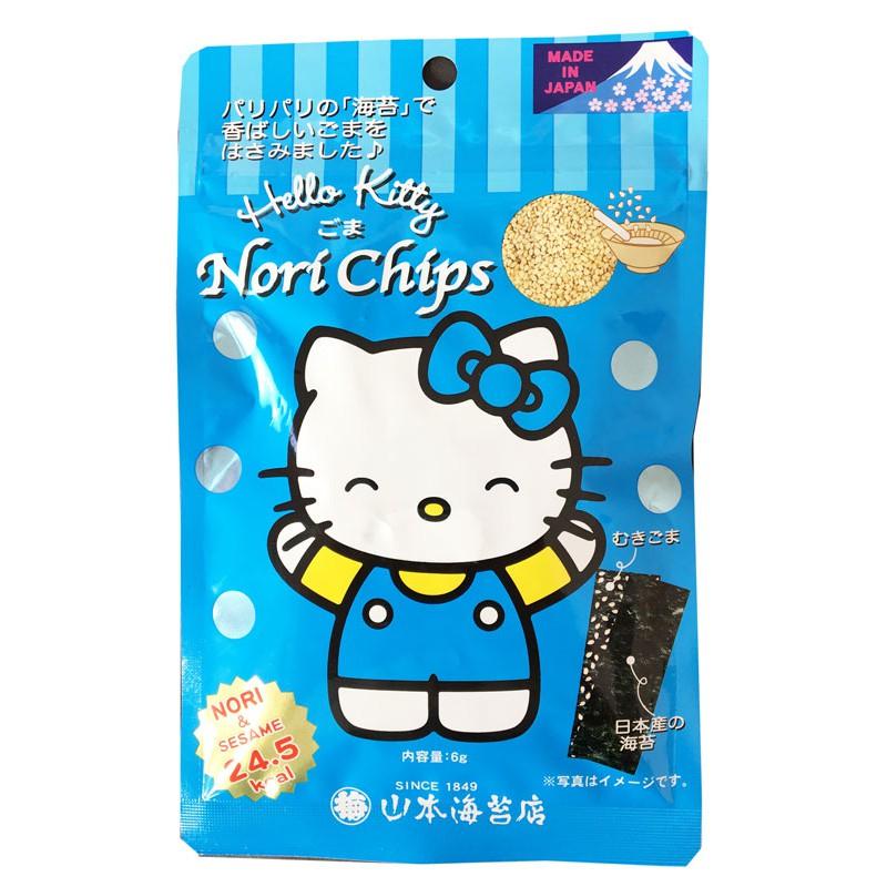 "Snack de Algas Nori ""Yamamoto"" Nori Chips 6 g"