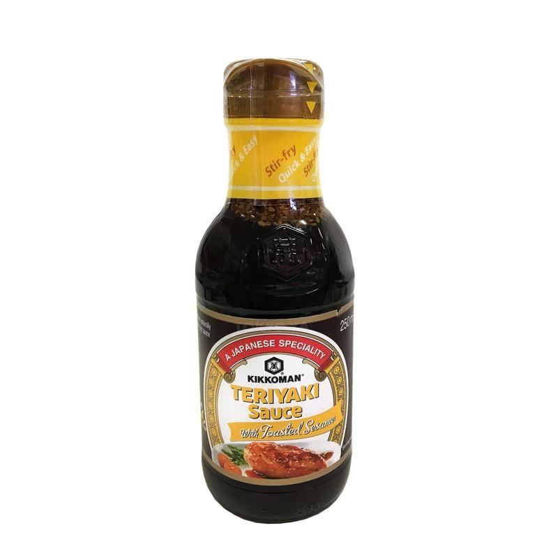 Salsa Teriyaki con sésamo tostado 250 ml
