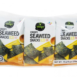 Snack de Algas con Sésamo Sin Gluten 15 g