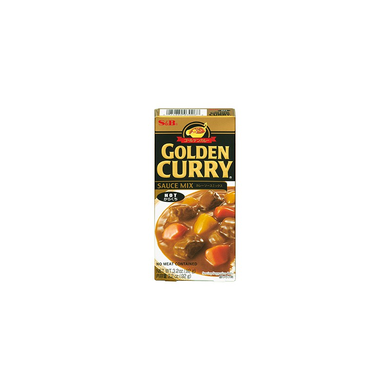 Salsa de Curry Golden Hot 92 g