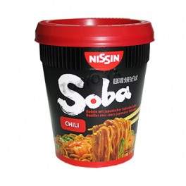 Fideos Yakisoba Cup Chili Nissin 92 g