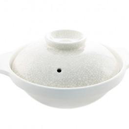 Donabe Ginmine Olla de cerámica 8 GO
