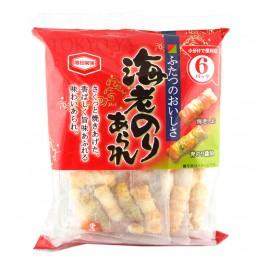 Galletas de Arroz sabor Alga Nori y Gambas 85 g