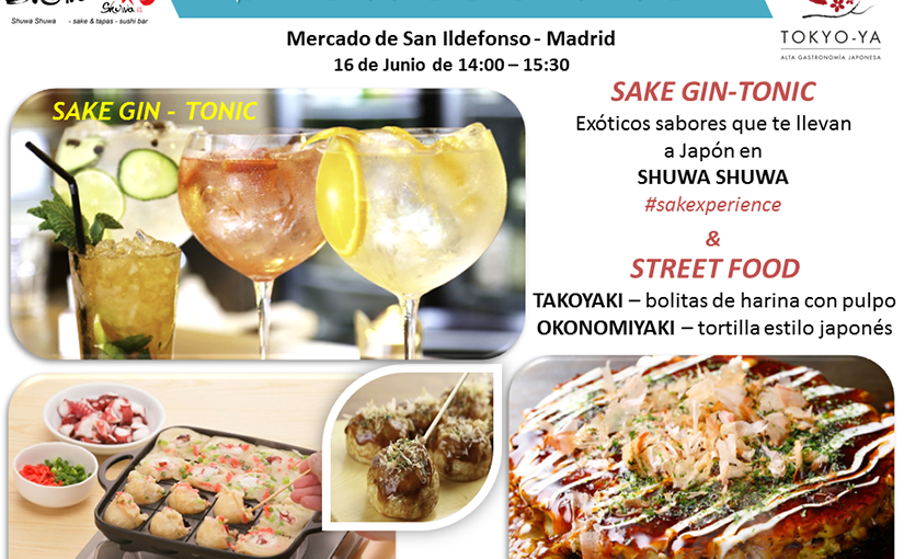 Showcooking en Mercado San Ildefonso Madrid