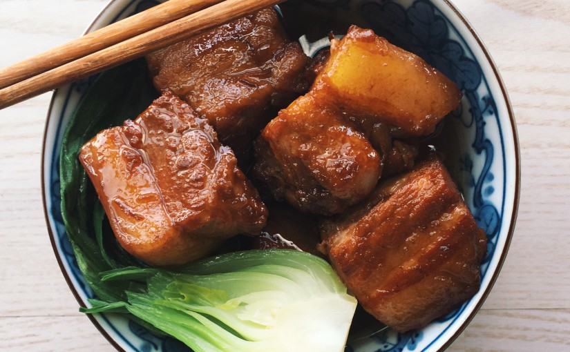 Panceta de cerdo hecha a fuego lento Buta no Kakuni