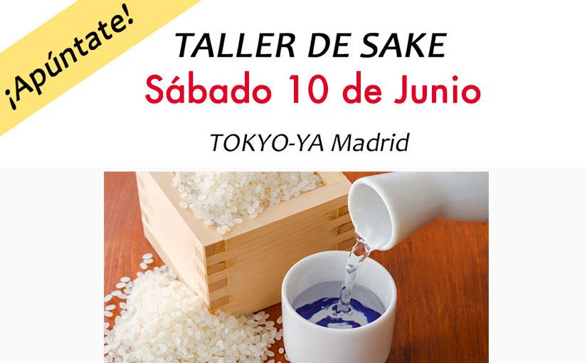 Taller de Sake en Tokyo-ya Madrid