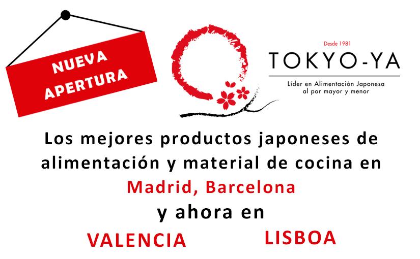 Nuevas Sedes Tokyo-ya en Valencia y Lisboa