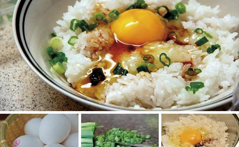 Rissoto de huevo a la japonesa: Tamago gayu