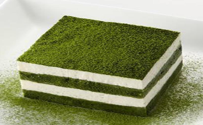 El Tiramisú de té verde matcha