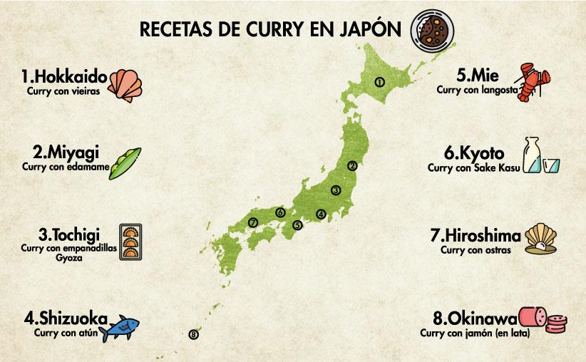 El curry en Japón