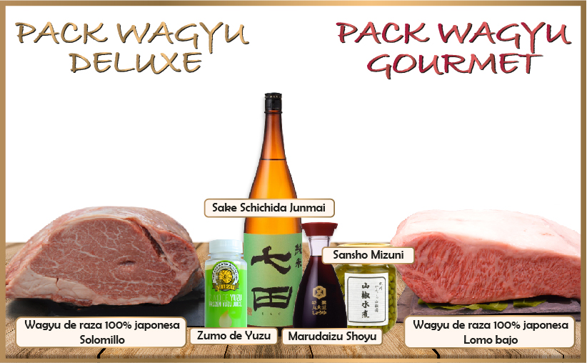 Pack Wagyu Deluxe & Gourmet