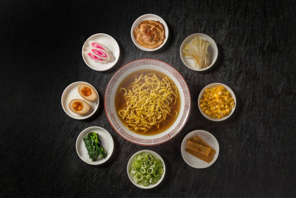 Toppings Ramen Tokyo-Ya