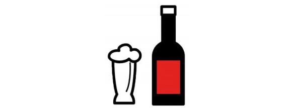 Sake, Cerveza y Licores