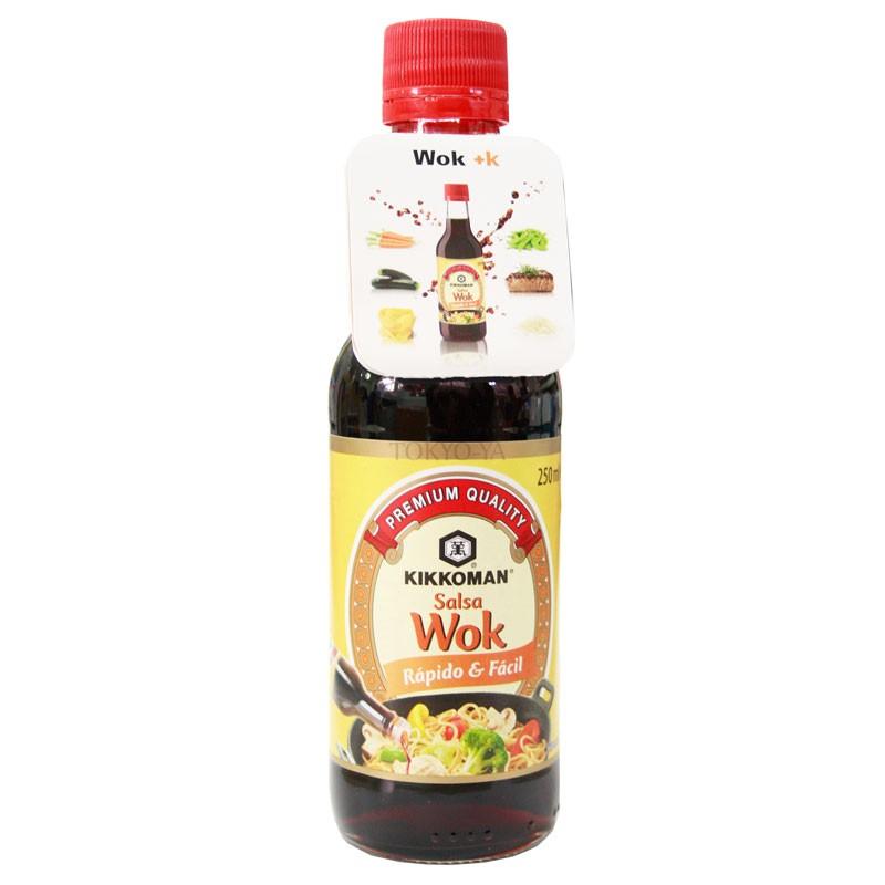 Salsa para Wok Kikkoman 250 ml