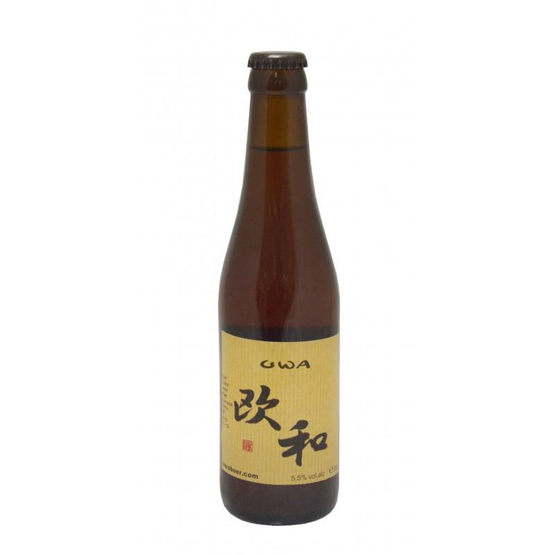 Cerveza Owa Ámbar 330 ml