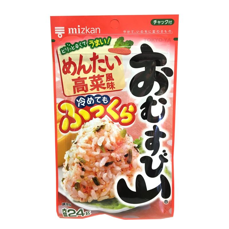 Condimento Furikake Huevas de Salmón y Hojas de Mostaza 24 g