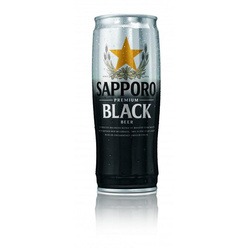 Cerveza Sapporo Black 650 ml