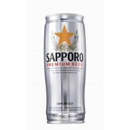 Cerveza Sapporo Silver Lata 650 ml