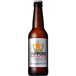 Cerveza Sapporo Lager 330 ml