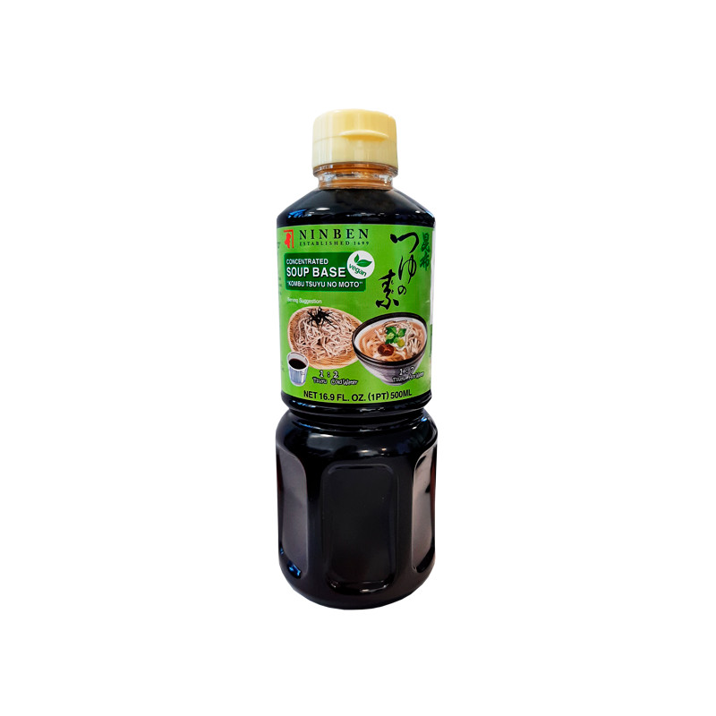 Salsa Base Kombu Tsuyu Vegana 500 ml