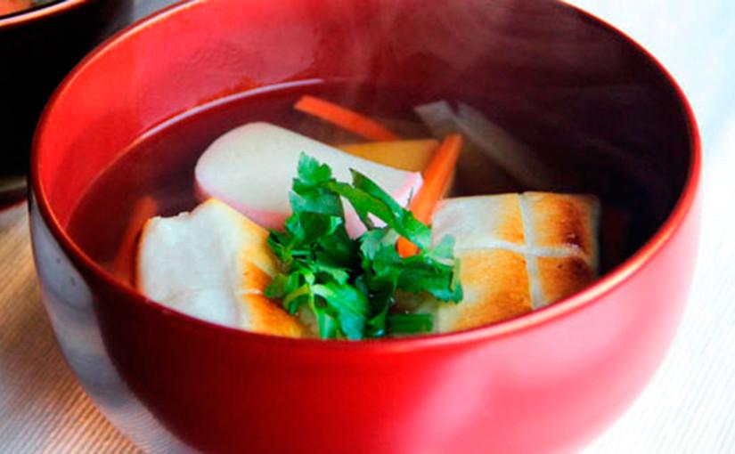Mochi en Sopa