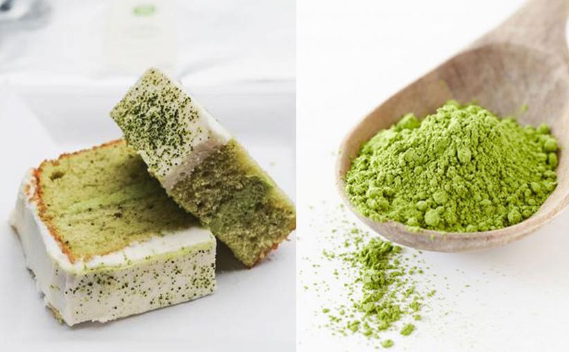 Bizcocho de Té Verde y Yogurt