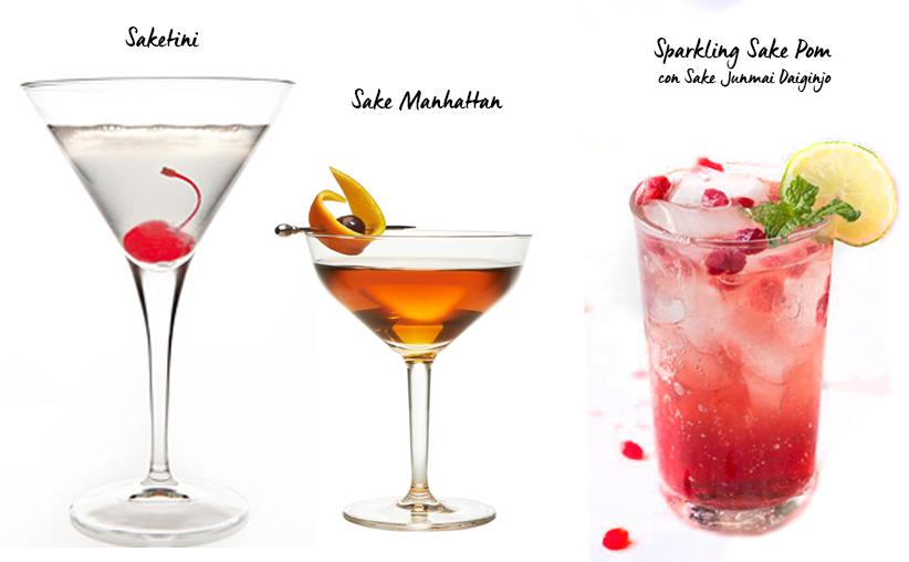 Cocteles con Sake para tus Fiestas